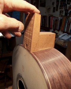 fitting heelblock to box
