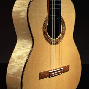 spruce/maple guitar