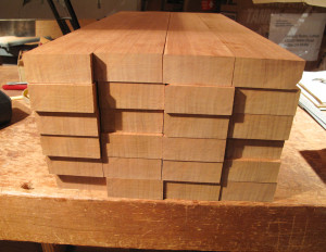 quarter-sawn neck blanks