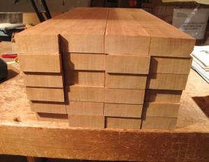 quarter-sawn neck blanks
